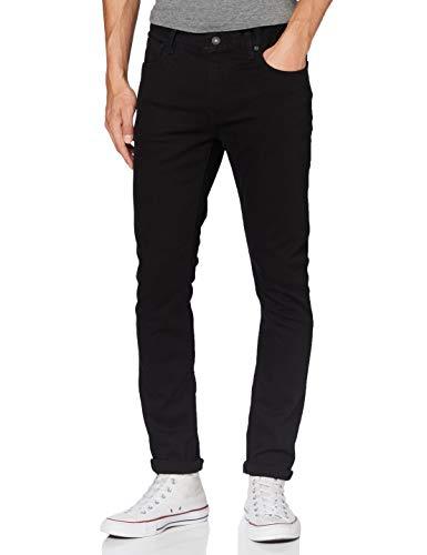 Scotch & Soda Herren Skim Straight Jeans, Schwarz (Stay Black 1362), 34W / 32L