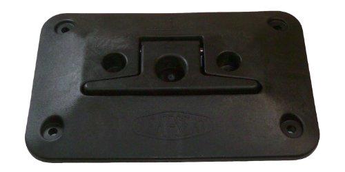 CIPA 02100 Cleat Seat Dock Cleat, Black