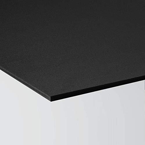 Pannello Lastra Forex 50x50 cm pvc nero altissima qualità spessore 3 mm