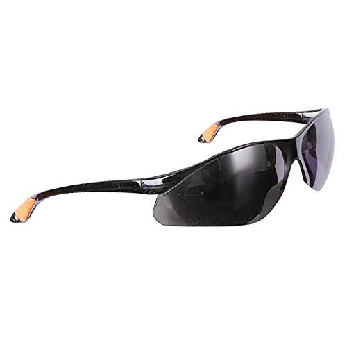 oshhni Gafas de Seguridad para El Trabajo Transparentes Gafas Antiniebla Anti-UV Lentill - Gris