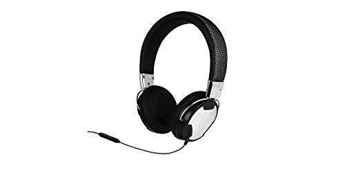 ARCTIC P614 - Cuffie da Studio On-Ear con Cavo 1,2 m e Spina 3,5 mm, Auricolari Dinamici con Microfono, Sovraurale, Riproduzione Continua fino a 30 h - Nero Argento