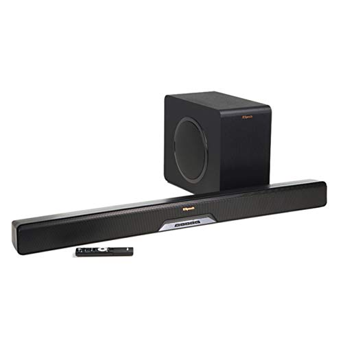 Klipsch RSB-14 Sound Bar with Wireless Subwoofer with Play Fi (Renewed)