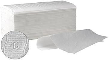 Toalla Secamanos zig zag papel laminadas SUMICEL, Caja de 4000 unidades