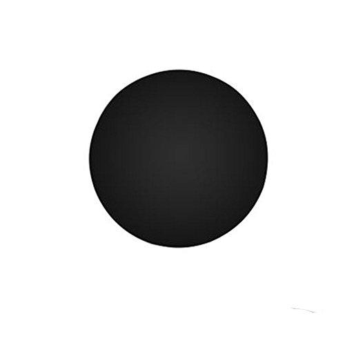 Nclon Cr¨¦atif Led Et la 10w Appliques murales,M¨¦tal Simple Rond Solid color Bois Chambre Salon Pack simple ¨¦clairage Veilleuse Inclus Source lumineuse-Noir - Blanc -30 * 10cm-12W