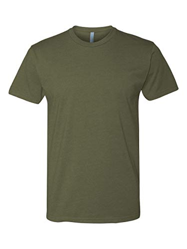 Next Level Apparel N6210 Mens Premium CVC Crew - Military Green, Extra Large