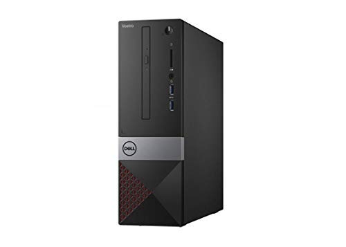 Newest_Dell Vostro Real Business (Better Design Than Inspiron and XPS) Premium Desktop Computer- Intel i3-8100 CPU, 4GB RAM, 1TB HD, DVD R/W, HDMI, VGA, Windows 10 Pro, Wireless+Bluetooth (Small)