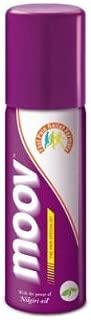 MOOV natural Ayurvedic Fast Pain Relief Spray 80 gm with Nilgiri Oil backache
