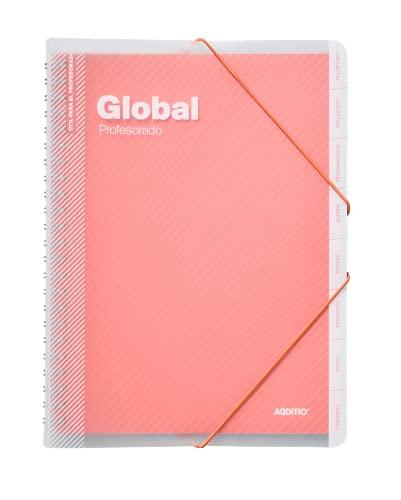 Additio P172 Carpeta Global Evaluación + Agenda + Tutoría + Reuniones Naranja