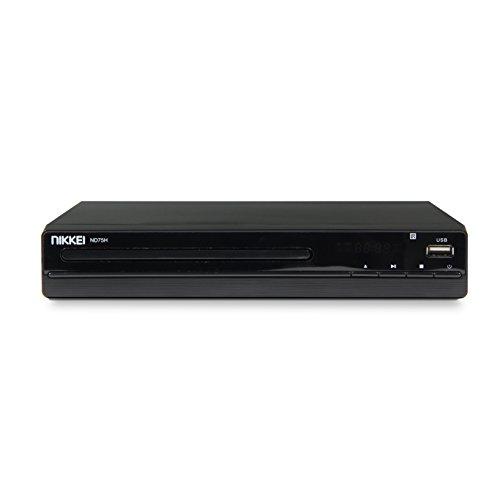 Nikkei ND75H DVD-speler met SCART, USB-poort en HDMI (22,5 cm) 8712837865715
