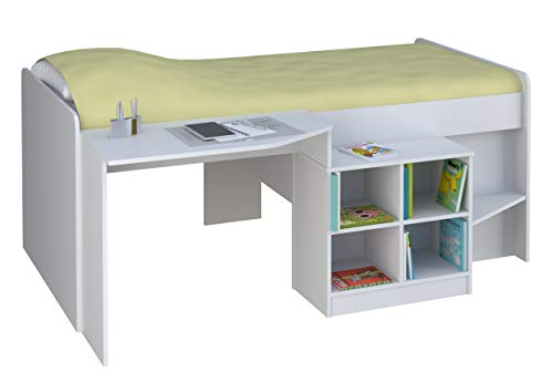 Kidsaw, Pilot Cabin Bed - White