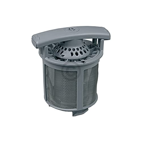 DL-pro Sieb fein + grob im Set für Electrolux Juno Zanker Zanussi 1119161105 111916110/5 für Modelle AEG Favorit für Geschirrspüler Spülmaschine Geschirrspülmachine