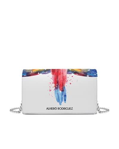 Alviero Rodriguez Borsa Bianca Color Tail