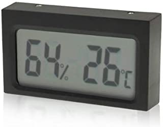 for Tang YI MING TL Mini LCD Indoor Digital Thermometer Humidity (Centigrade Display)(Black) Messgerät (Color : Black)