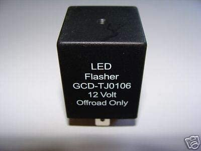 GCD Fits Save money Jeep 2001-2006 TJ Relay LED Flasher Wrangler lowest price