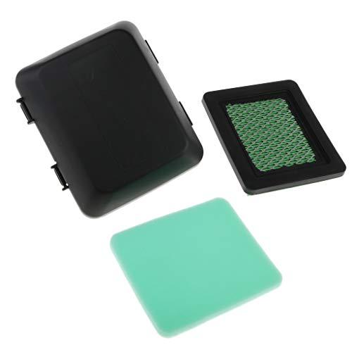 Luftfilter Luftfilterdeckel Luftfiltergehäuse Kit für Honda GC190LA GCV135 GCV135A GCV160 Rasenmäher
