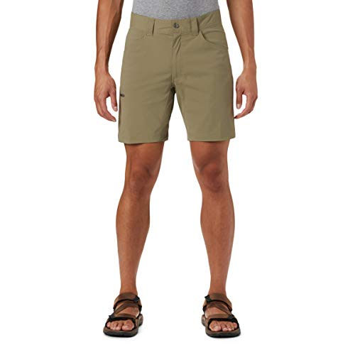 Columbia Silver Ridge II Short Stretch pour Homme Protection Solaire UPF 50, Homme, 1839321, Sauge, 28x10