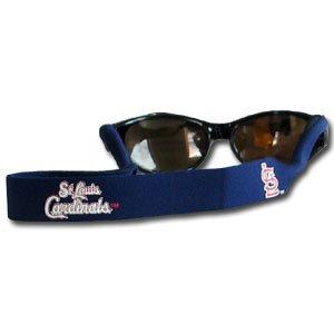 St. Louis Cardinals Neoprene Sunglass Strap (Croakies) - MLB Baseball Fan Shop Sports Team Merchandise