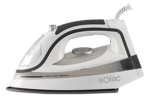 Solac CVG9505 Centro de Planchado Compacto sin Caldera, color Blanco
