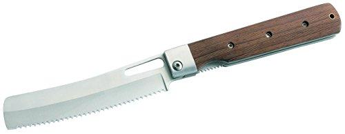 Herbertz Camping-Brotmesser, Stahl 440 A, Heftlänge 12, 6 cm Essbesteck/Küche unterwegs, Mehrfarbig, M