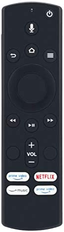 Replacement Voice Remote Control for Westinghouse/Element Alexa Amazon Fire TV Edition WA43UFT1001 WA43UFT1001 WA50UFT1001 WA55UFT1001 WA65UFT1001 EL4KAMZ4317 EL4KAMZ5017 EL4KAMZ5517 EL4KAMZ6517