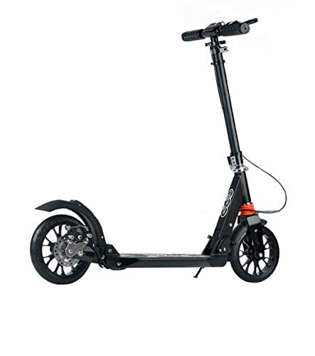 Check Out This ZFF Adult Roller Scooter 2 Wheel Foldable City Walking Tools Campus Scooter ,Birthd...