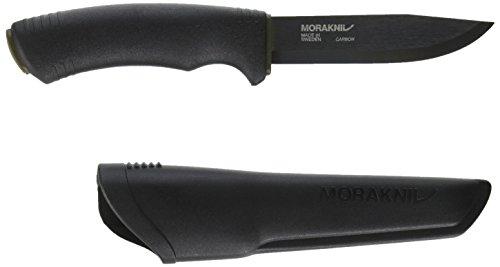 Mora Bushcraft Couteau d'extérieur Noir 10,8 cm