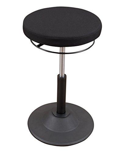 Ergonomic Adjustable Active Standing Desk Chair - Safely Rock,...