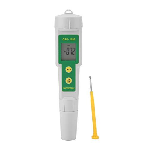 Probador de ORP, Monitor De Calidad Del Agua, Medidor de Redox Piscina, Alta Sensibilidad 0 - ± 1999mg / Lmv, Para Fuente De Agua, Acuario, Hidroponía, Spa, Piscina