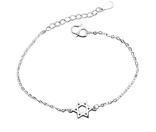 Da.Wa lovely cavigliera catena placcata argento sandalo cavigliera braccialetto spiaggia piede catena, decorazione per donne ragazze bambini sandali
