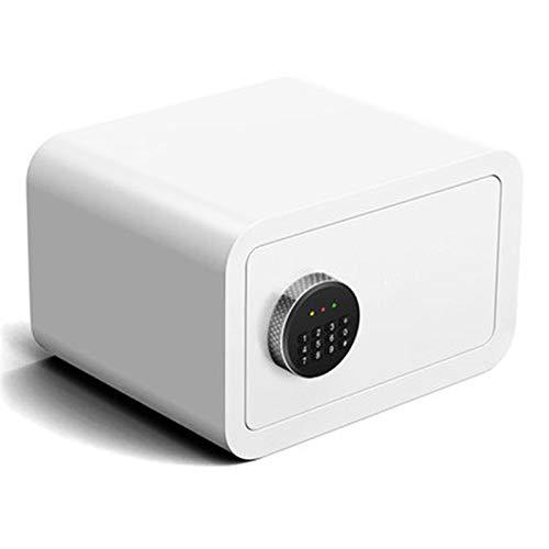 KNJF Caja Fuerte de Alta Seguridad Casa pequeña Caja Fuerte Caja de Dactilar Password Password Mini Pared de Noche en la Pared Caja de Seguridad Puede ser fijado a Pared o Piso.