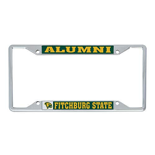 Desert Cactus Fitchburg State University FSU Falcons NCAA Metal License Plate Frame for Front or Back of Car Officially Licensed (Alumni)