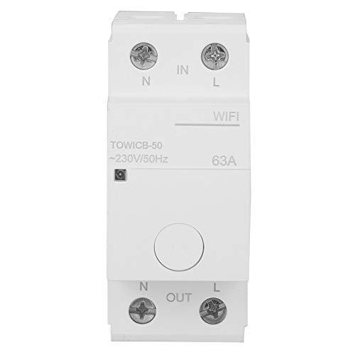 TOWICB-50 Disyuntor WIFI Equipo de protección multifunción duradero Dispositivo Safey Protector de...