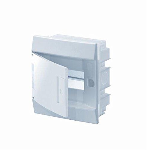 Abb-entrelec mistral41f inbouwdoos mistral41 rijen 650 6 modules deur mat