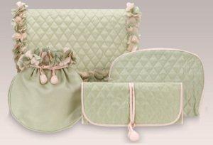 Green Silk Gift Set