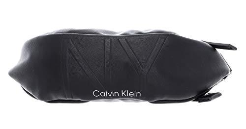 Calvin Klein NY Shaped Medium Waistbag Black