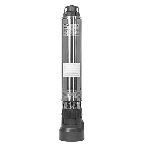 XtremepowerUS Stainless Steel Submersible Deep Well Pump