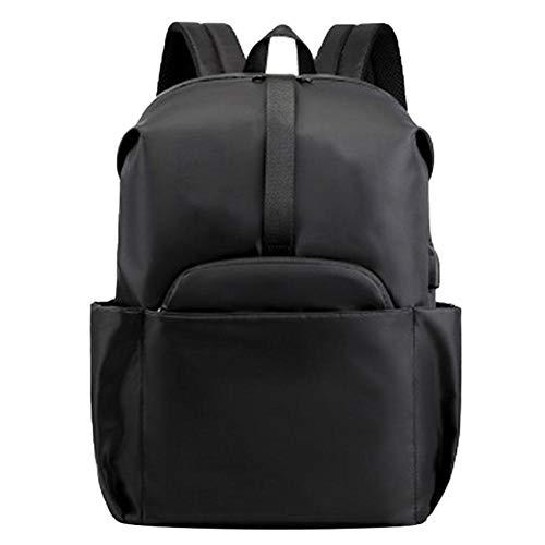 DaoRier Wanderrucksäcke Laptoprucksäcke Schulranzen Schultaschen Daypacks Rucksäcke Taschen Schulranzen, 32*44*15cm, Schwarz, Nylon, für Universität Student/Büroangestellter. Schulbedarf, Bürobedar