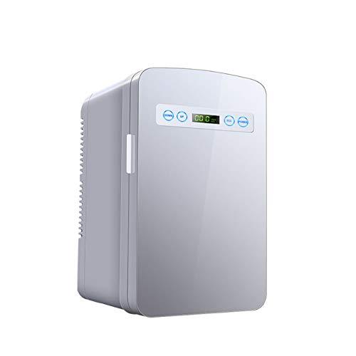 yunyun Mini Gefriertruhe,10L Tragbar Kompressor Kühlbox,Doppelfunktion Für Auto Und Zuhause Kühltruhe,Touch-Digitalanzeige, DREI Schichten Auto Kühlschrank