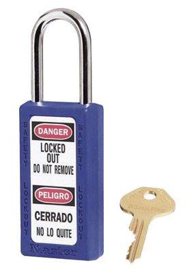 Master Lock Blau 1â1/5,1âx 7,6âcm Zenex Thermoplastisches Zweisprachige Leichtgewichtig Sicherheit Lockout Vorhã¤ngeschloss Mit 1/10,2âcm X 1â1/5,1âcm Bã¼gel (6âschlã¶sser Pro Set