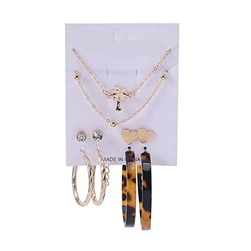 1 pieza de pendientes para mujer, pendientes multiestilo, pendientes con borla y pendientes de flores