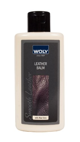 Woly Leather Balm. Gentle Cleaner & Conditioner for Designer Shoes & Handbags. Prevents Leather Dryness & Cracking.