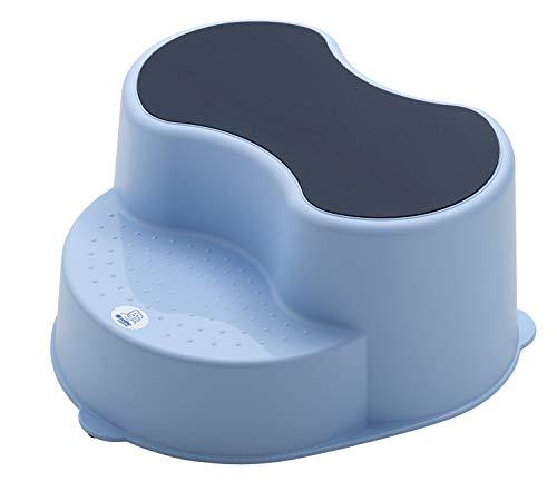 Rotho Babydesign TOP Marchepied pour Enfants, Surface antidérapante, Sky Blue (Bleu clair), 20005 0289