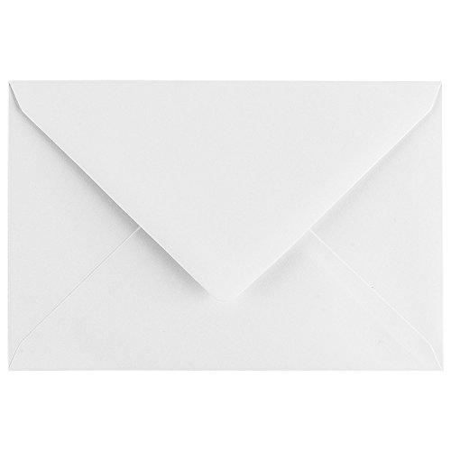 Umschläge, Din C6, 11,4 cm x16,2 cm, 100 Stück | hohe Qualität: 120 g/m² | Briefumschläge, Kuvert, Briefkuvert, Briefhülle für Grußkarten, Einladung, Geburtstagskarten