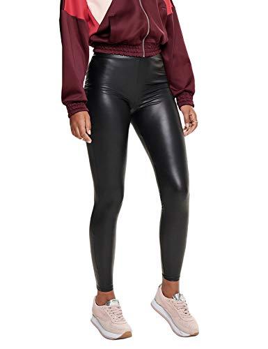 Only Onlcool Coated Legging Noos Leggings, Negro (Black Black), 40 (Talla del Fabricante: Medium) para Mujer