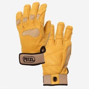 Petzl Cordex Plus Medium Weight Belay & Rappel Gloves (Tan / X-Small)