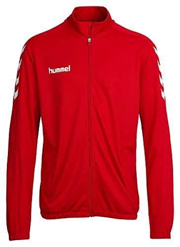 Hummel Jungen Jacke Core Poly Jacket, True Red, 128