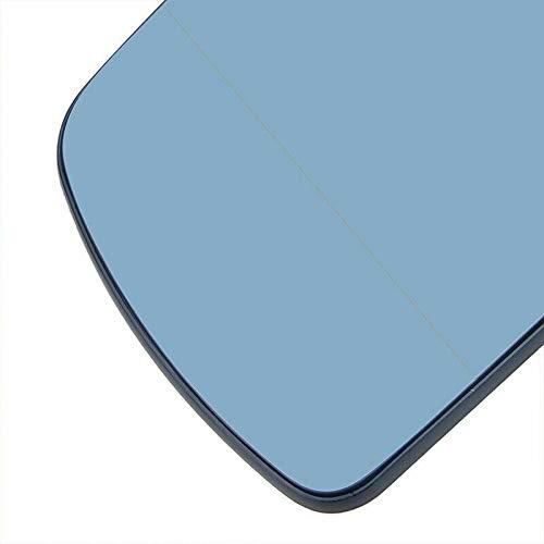 Linker blauwe deur vleugel spiegel glas verwarmd voor X5 E53 (2000-06) SUV 51167039597
