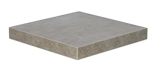 living-by-design levandeo Eckregal Beton 32x32cm Wandregal Holz Dekor Regal Eckboard Ablage Board Ecke