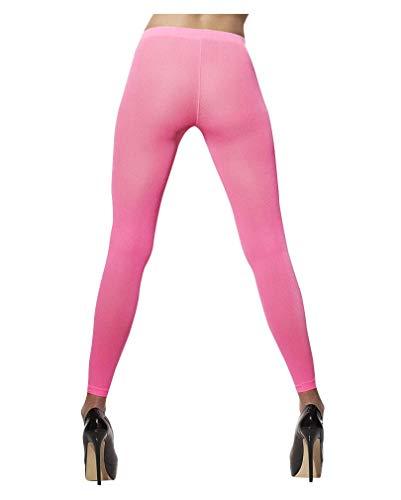 Horror-Shop Neon leggings rose