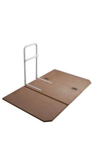 Drive Medical Home Bed Assist Grab Rail with Bed Board